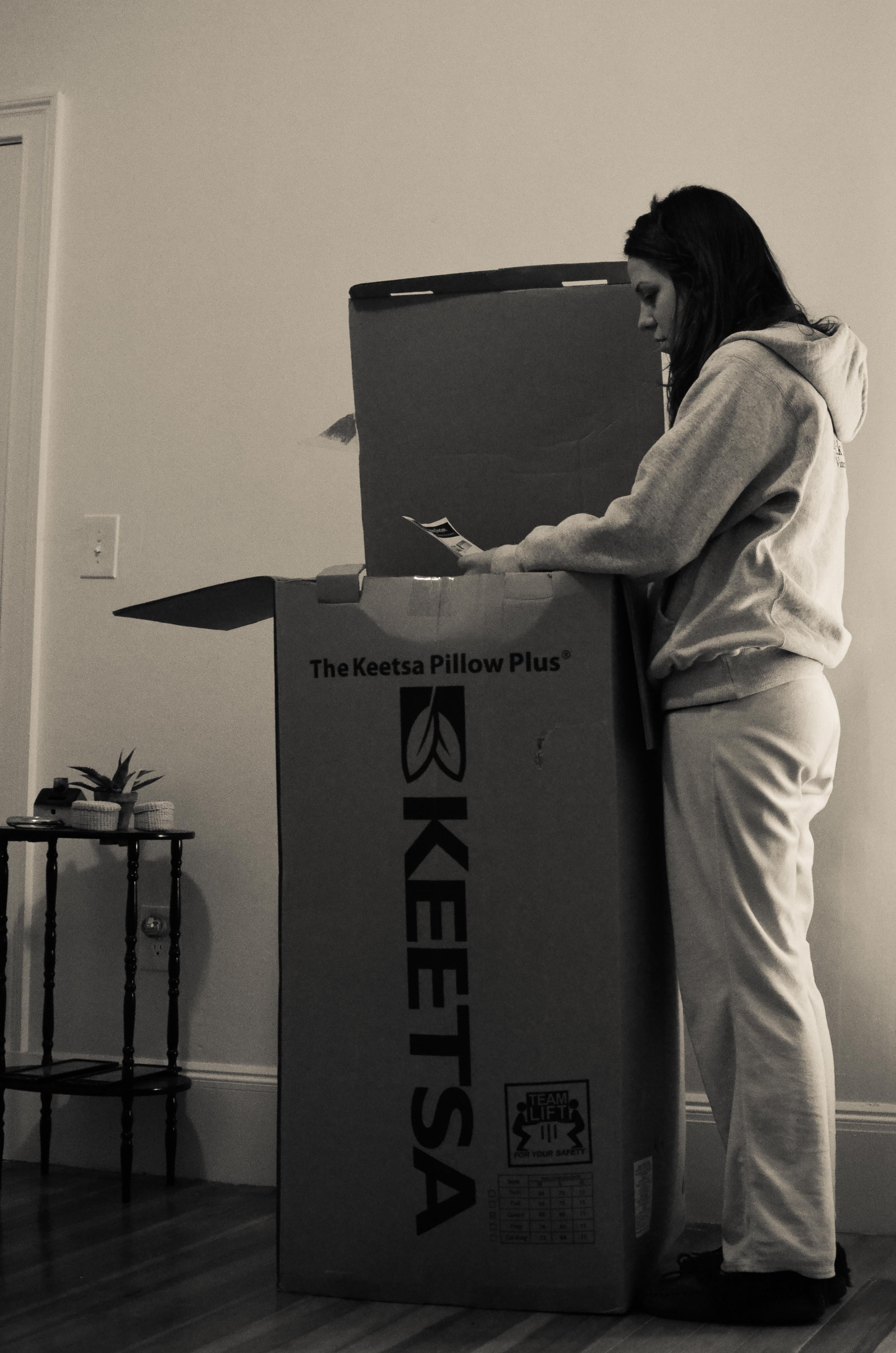 Keetsa Pillow Plus Review The Story Of Our Bed